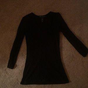 Lightweight black sweater.  Never worn.